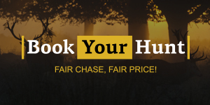 Logo book your hunt